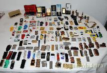 Isqueiros vários para colecção