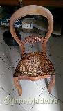 Cadeiras madeira com assento palhinha