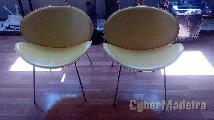 Conjunto de cadeiras de sala