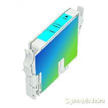 Tinteiro compatível epson T04 cyan Azul