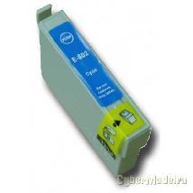 Tinteiro compatível epson T0802 Azul