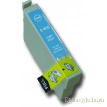 Tinteiro compativel epson T0805 xl – cyan light Azul