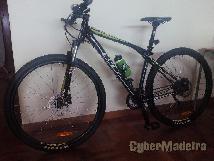 Bicicleta + barras de transporte + suporte bicileta thule