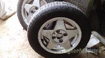 """Jantes R14 4X100 14"""" com pneus"""