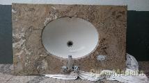 Conjunto de casa de banho em mármore