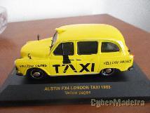Miniaturas de coleção na escala 1:43 austin taxi seat matra