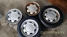 "Toyota 4X100 14"" sem pneus"