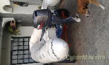 Zodiac 3.40 m   motor 15 cv four stroke