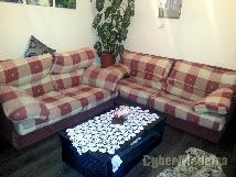 2 sofas uzadas  tecido preco negosiavel