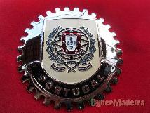 Emblema Placa Chapa Portugal 2