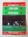 Programa England - Portugal 74