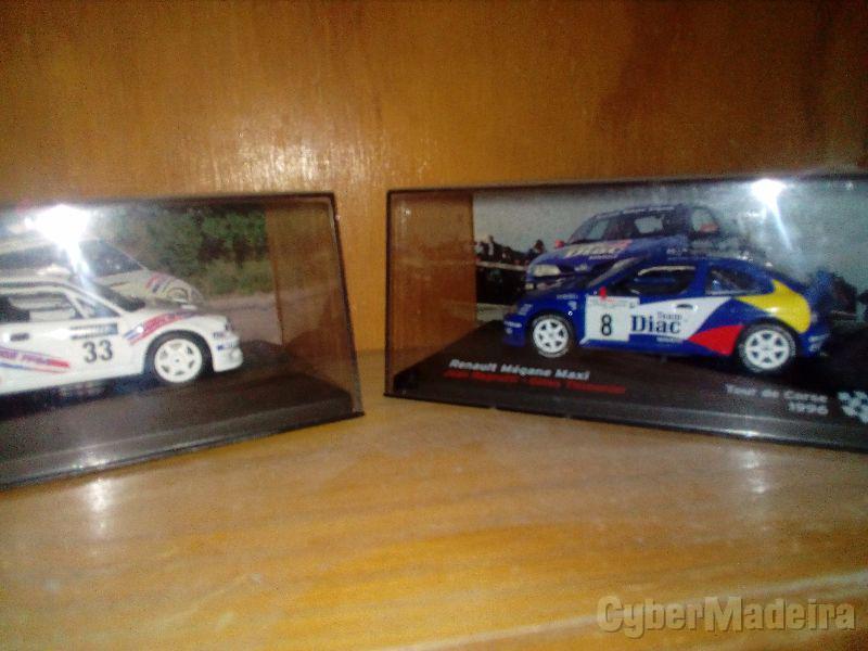 Miniaturas de carros de rally