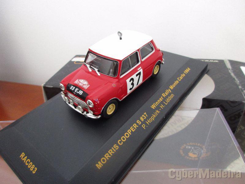 Miniatura de coleção na escala 1:43 rallye