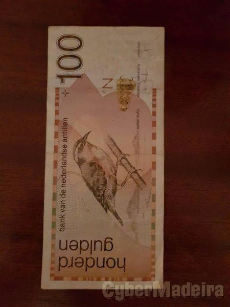 Nota antiga honderd gulten 100