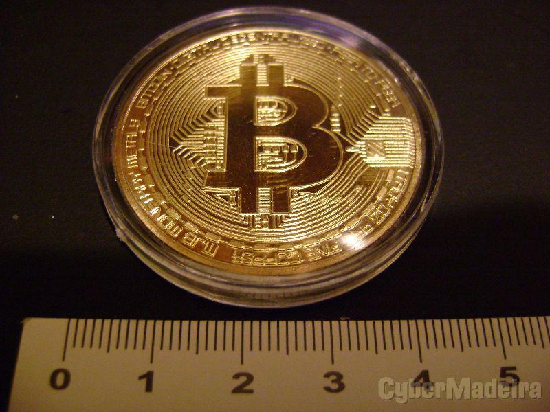 Pack moedas Ethereum e Bitcoin - colecionador/ilustrativa
