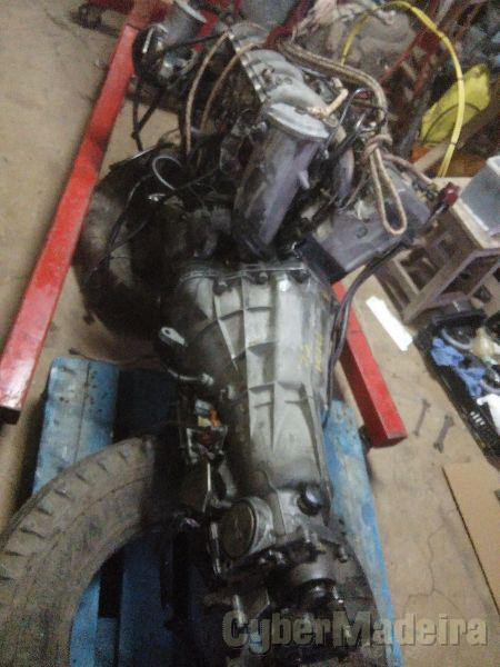 Mercedes Motor e caixa w124 3.0D Gasóleo 120