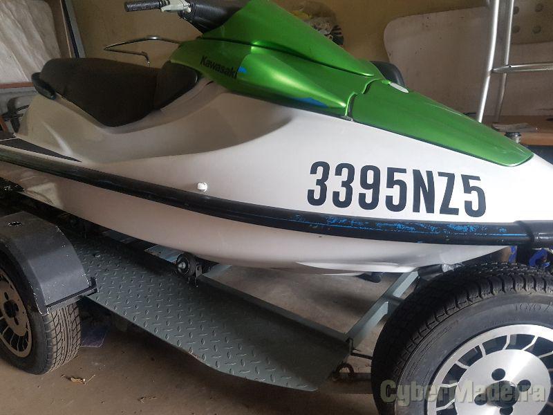 Yamaha 750cc 2 tempos + atrelado