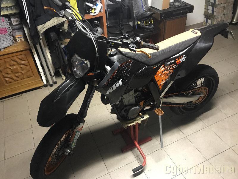 KTM Exc-r 450 cc Supermoto