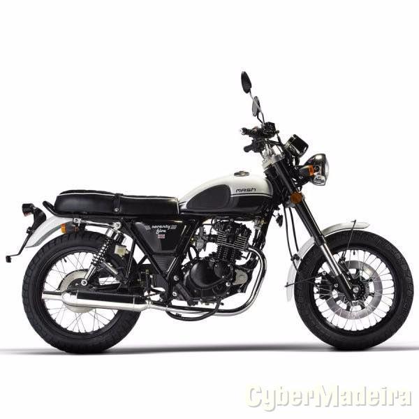 Yamaha Mash Seventy Five Vintage 125cc Nova 125 cc Sport, turismo