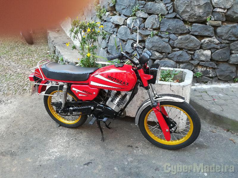 Sash Motozax 50 cc Sport, turismo