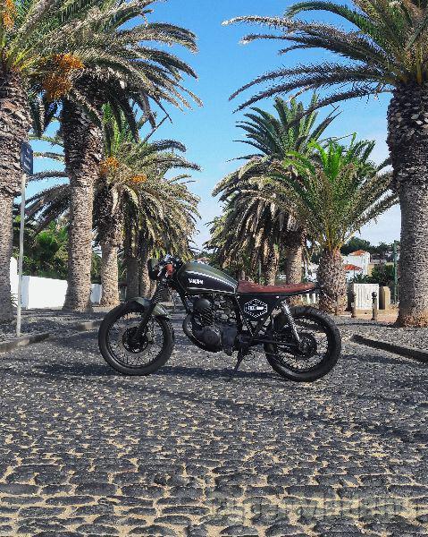 Yamaha SR 125 cc Chopper, cruiser