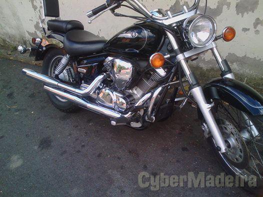Yamaha mota 125 cc Chopper, cruiser