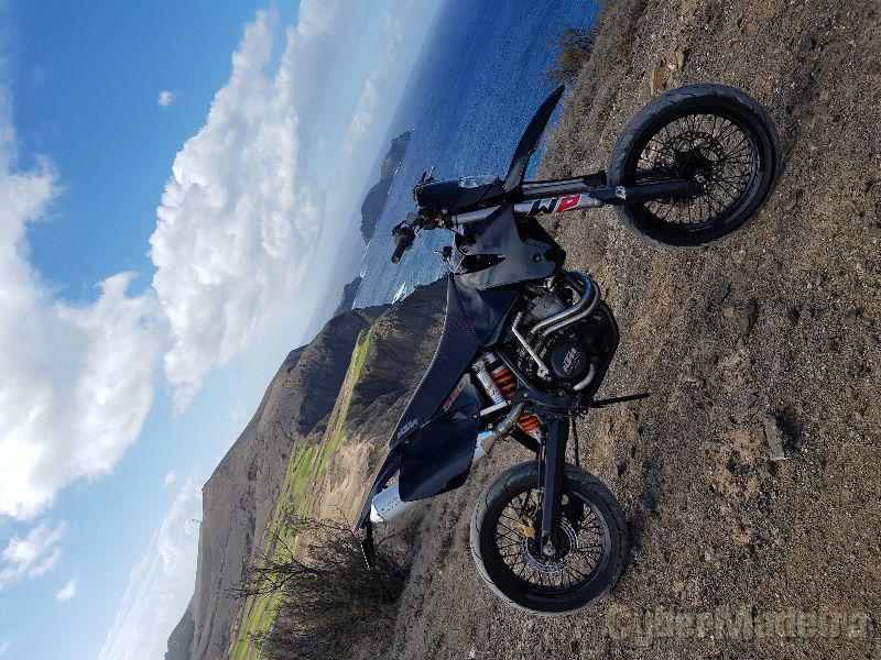 KTM Exc 520 cc Supermoto