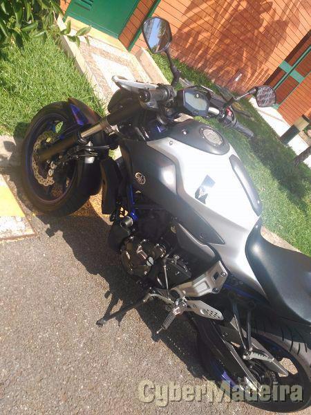 Yamaha MT7 690 cc Sport, turismo