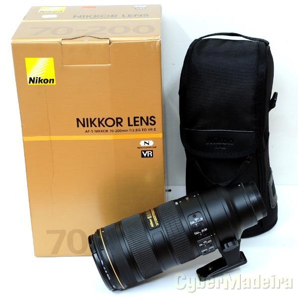 Compro AF-S NIKKOR 70-200mm f/2.8 VR ou similar