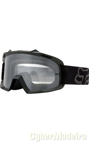 Goggles / Oculos Fox Youth Air Space Matte Black