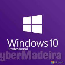 windows 10 profissional com chave de activação