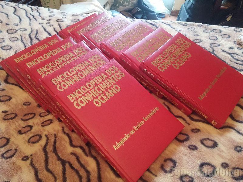 Enciclopédia dos Conhecimentos Oceano Liarte 12 Vol. 1997