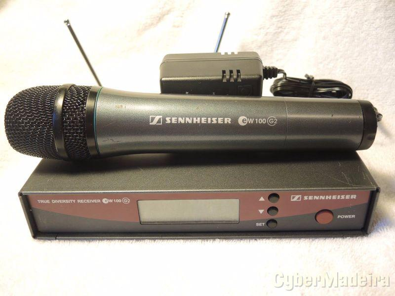 Sistema de microfone sennheiser para eventos