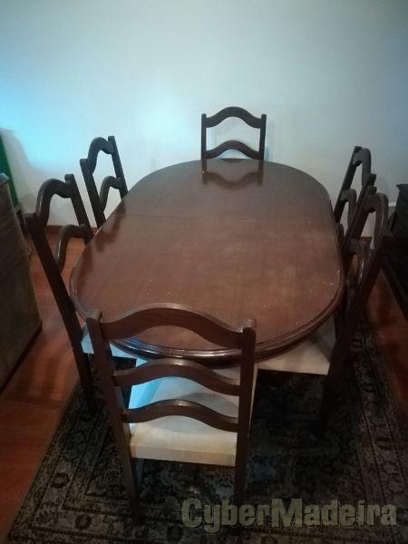 Mesa de Jantar+6 cadeiras