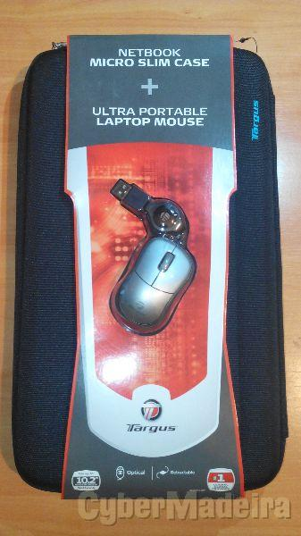 Bolsa Rigida portatil 10 pol Targus Nova + rato