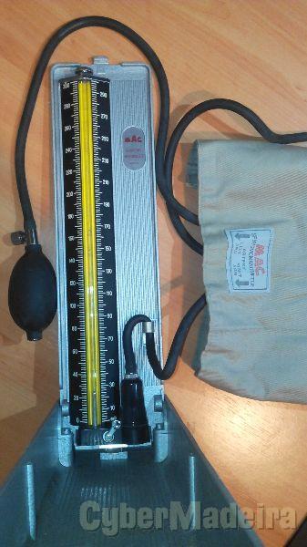 Medidor Pressão Sangue Esfigmomanómetro Mercurial Model 300