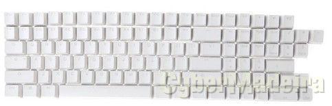 108  Teclas brancas para teclados Retroiluminado
