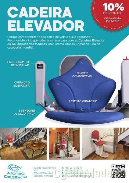 Cadeira Elevador Afonso Camacho lda.