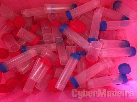 Frascos de plástico vários tamanhos NOVOS