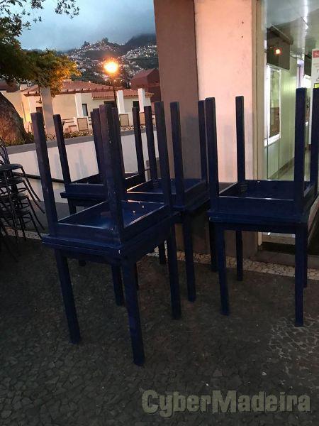 cadeiras e mesas para restaurante o bar