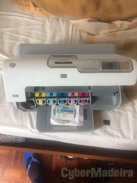 Impressora HP PhotoSmart D7260 como nova