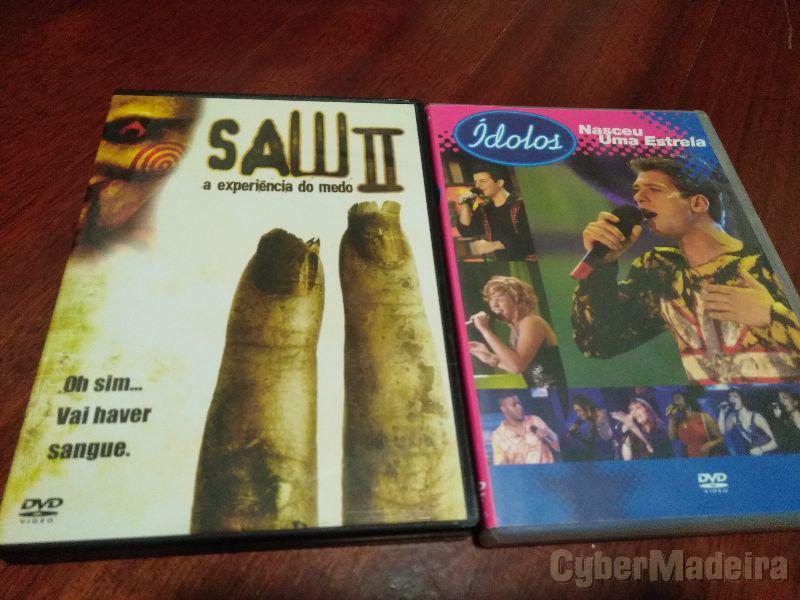 Vários DVDs Originais e como novos