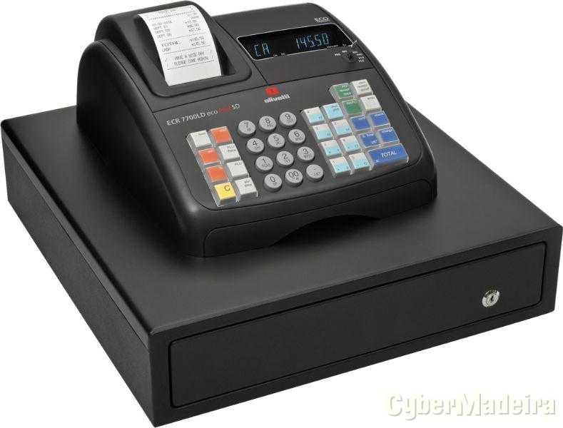 Registadora Olivetti ECR 7700 LD eco plus