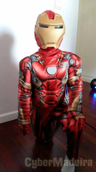 Fato de Carnaval Homem de Ferro 4 - 6 anos