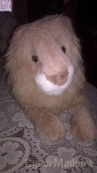 Peluche leão novo  peluche grande. peluche anti-alérgico de óptima qualidade