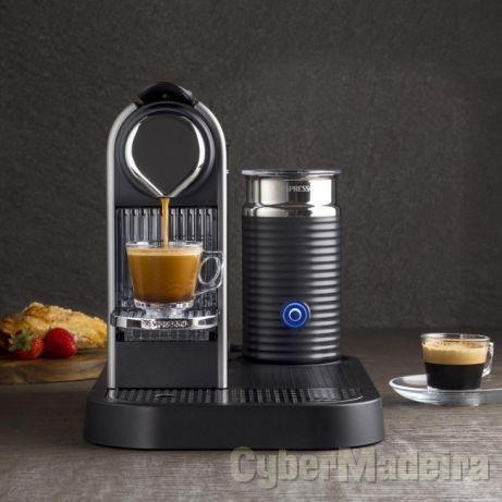 Máq. de Café Nespresso Citiz & Milk + Aeroccino