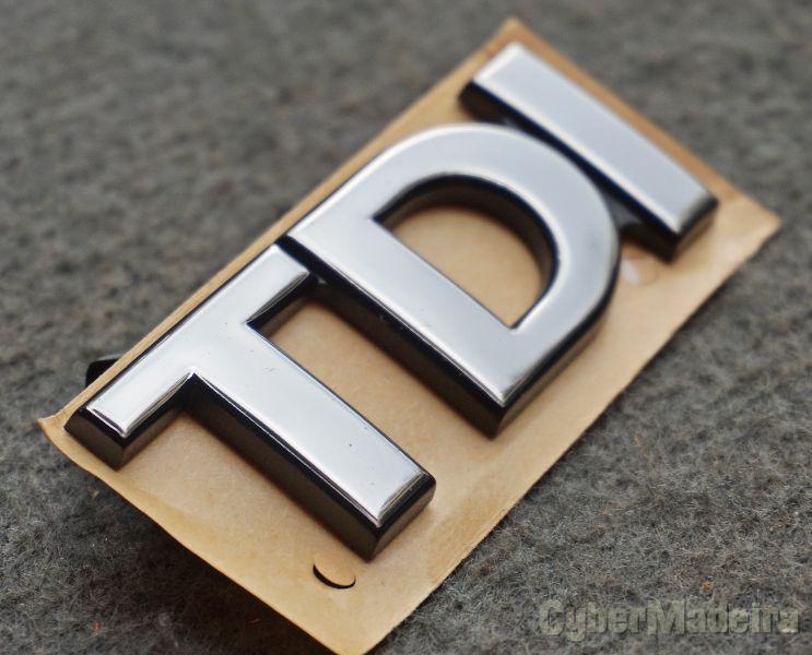 VW - TDI Emblema
