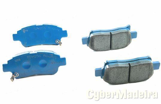 J. pastilhas travão rodas frente - 04465-52140