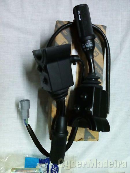 Interruptor de luzes piscas E buzina escavadora ford 655C