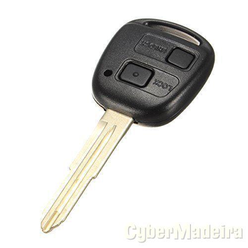 Botões chave toyota